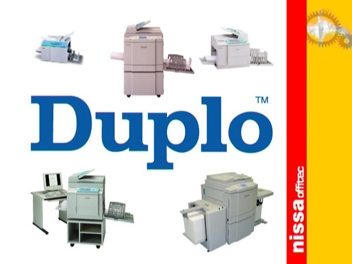 Дупликаторы DUPLO